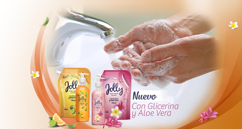 Jabón Liquido Jolly