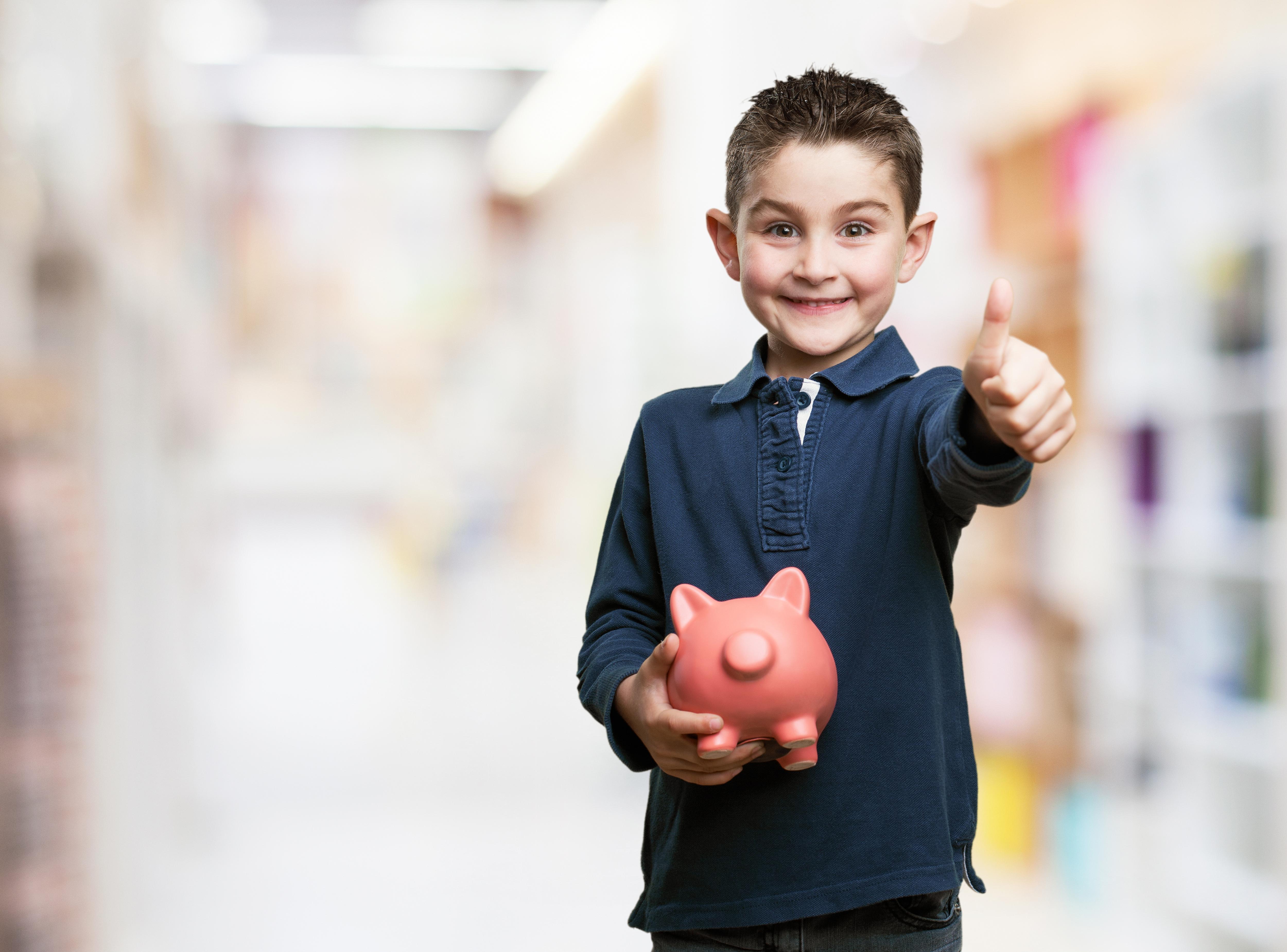 Enseña a tus hijos a valorar y ahorrar el dinero