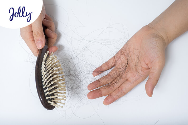 Cuidado del cabello durante una etapa de estrés - Jolly