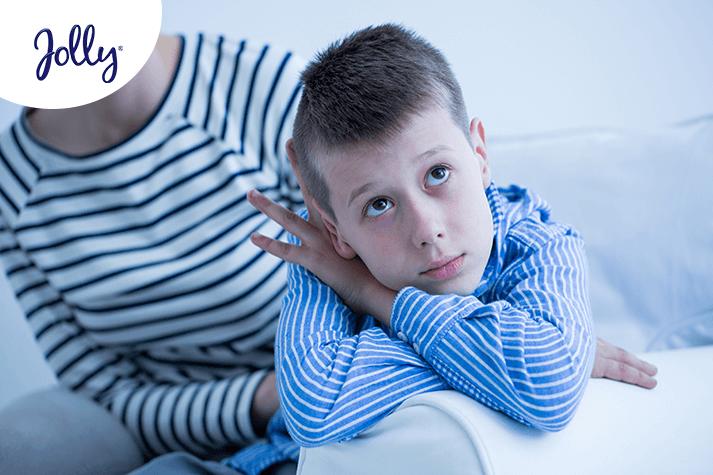 ¿Mi hijo me quiere menos porque no es cariñoso? | Jolly