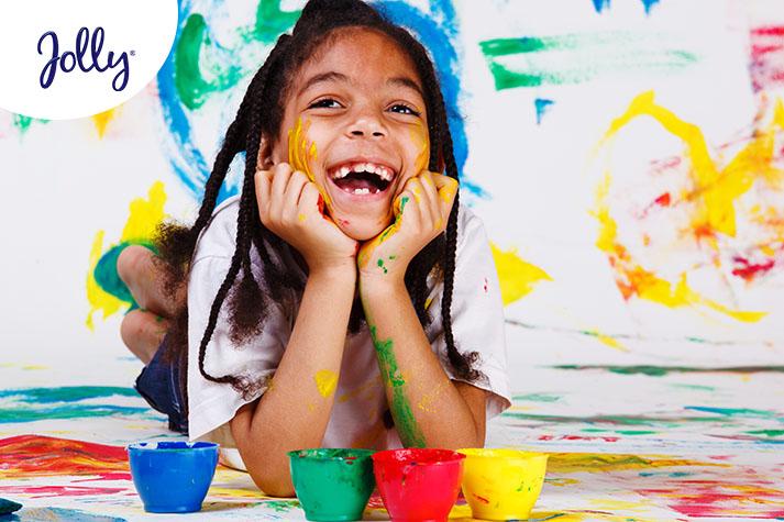 Ayuda a tu hijo a desarrollar sus capacidades artísticas | Jolly
