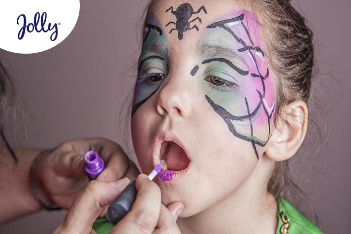 Maquillaje de fantasía para niños, consejos | Jolly