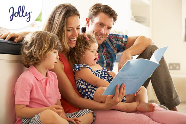 Consejo: Importancia de leer cuentos a los niños | Jolly